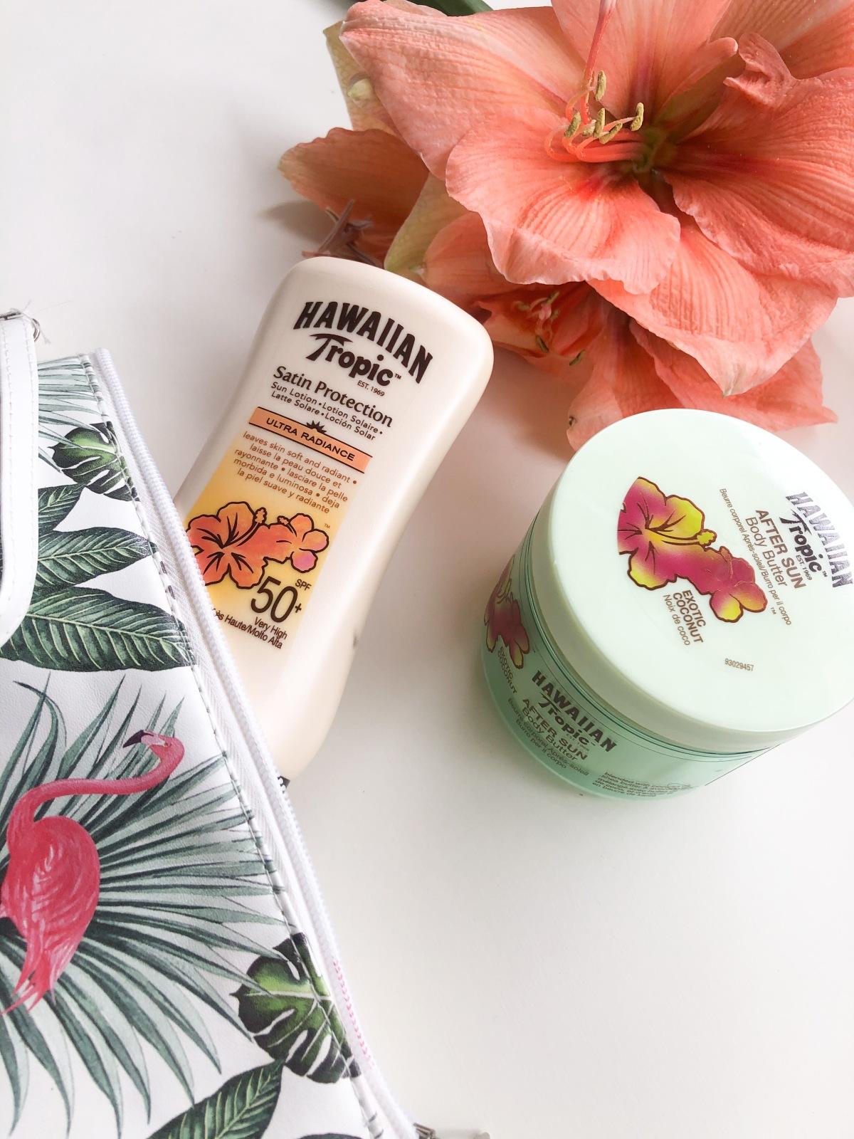 Hou van de zon maar respecteer je huid. Hawaiian Tropicreview